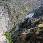 Panorámica del cañón de las Arribes del Duero, desde Villardiegua