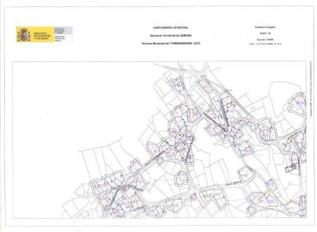 Mapa Urbano de Torregamones (Cuadrante 1)