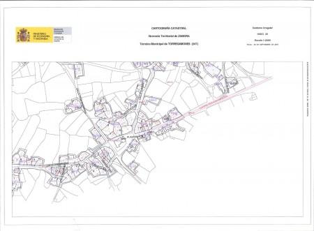 Mapa Urbano de Torregamones (Cuadrante 4)