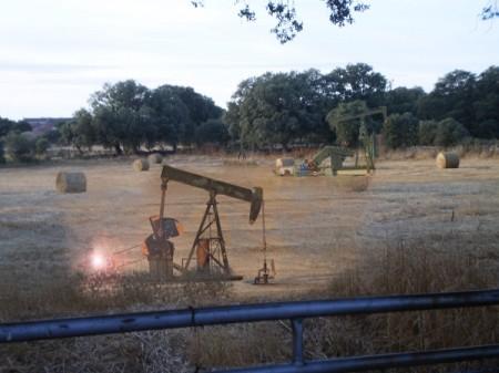 Yacimiento petrolífero de Torregamones recientemente descubierto (28/12/2012)