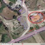 Ermita. Referencia catastral 6066302QF3966N0001RF (foto PNOA, marzo 2013).