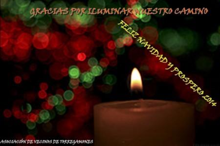 Feliz Navidad 2013. Asociación de Vecinos de Torregamones
