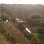 2014/01/04 - Arroyo de Peña Bermea, Torregamones (foto 1). Vista desde la Aduana.