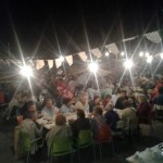 2014/08/16: Cena de socios de la Asociación de Vecinos de Torregamones - Verano a tope 2014