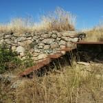 23/07/2015: Estado actual de abandono del Fuerte Nuevo de Torregamones (foto 05)