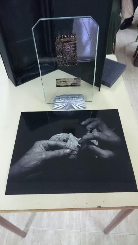 Obra ganadora del 2º concurso fotográfico 'Torregamones, de foto' y trofeo