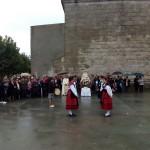 Torregamones: Fiestas Virgen del Templo - 18 Octubre 2015 (Foto 02): Ofertorio en honor de la Virgen del Templo y Baile del Ramo