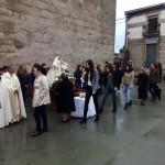 Torregamones: Fiestas Virgen del Templo - 18 Octubre 2015 (Foto 03): Ofertorio en honor de la Virgen del Templo y Baile del Ramo