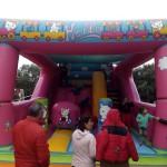 Torregamones: Fiestas Virgen del Templo - 17 Octubre 2015 (Foto 05): Castillo hinchable