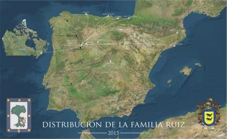 Torregamones. Familia Ruiz - Mapa migratorio 19/08/2015