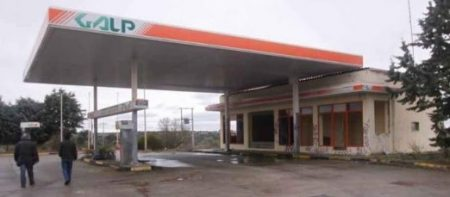 Gasolinera abandonada de Torregamones