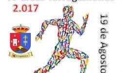 Cartel 2017 del IV Cross solidario de Torregamones