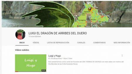 Canal en Youtube del CRA de Torregamones