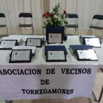 Placas expuestas. Homenaje a nuestros mayores de 90 años (26/05/2018. Fiestas de San Ildefonso)