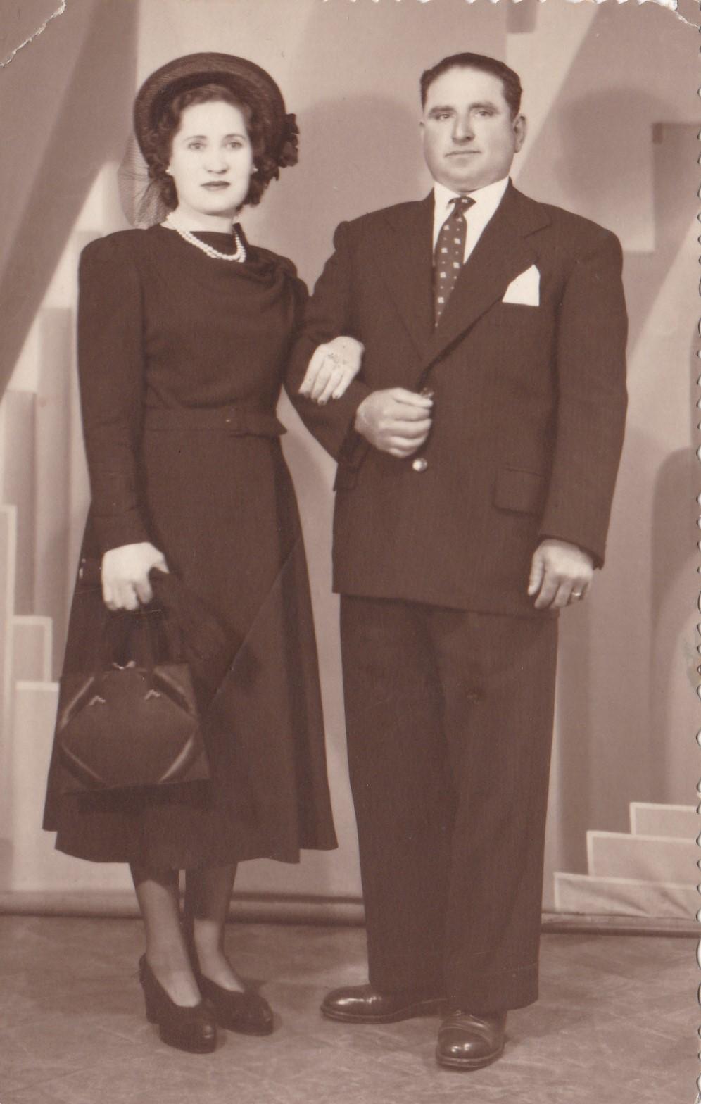 Mi tía María y su esposo (c) Leonor Salustiano