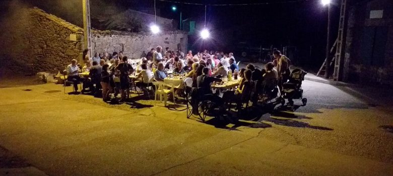 Cena de verano 2019 en La Corredera (Torregamones)