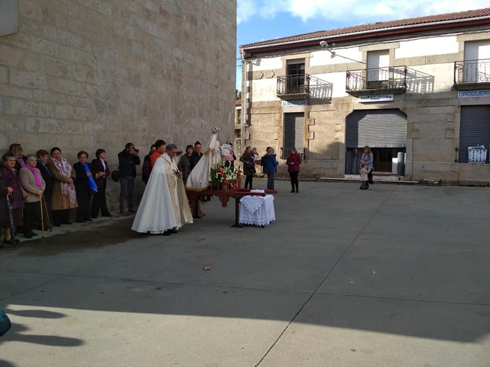 Procesión y Baile del Ramo - foto 01, Torregamones 21/10/2109 (Autor: Manuel Ferrero Mayo)