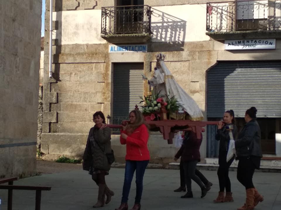 Procesión y Baile del Ramo - foto 03, Torregamones 21/10/2109 (Autor: Manuel Ferrero Mayo)