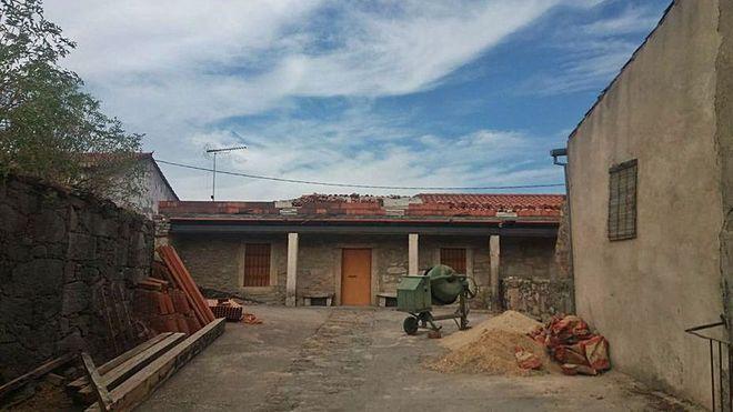 septiembre 2020. Obras del centro cultural de Torregamones, situado en la C/ Corredera