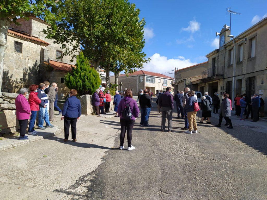 Foto 2: 03/10/2020. Manifestación por una Sanidad Digna para Torregamones