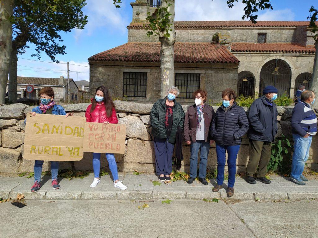 Foto 5: 03/10/2020. Manifestación por una Sanidad Digna para Torregamones
