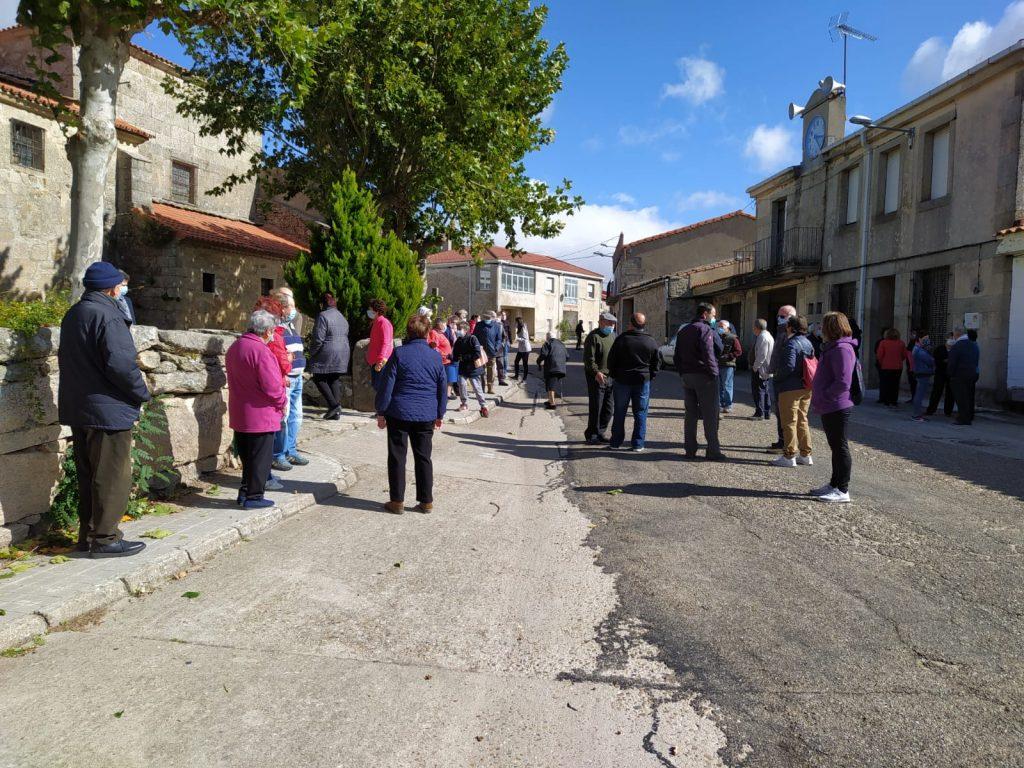 Foto 6: 03/10/2020. Manifestación por una Sanidad Digna para Torregamones